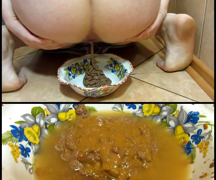 Scat and pissing in a bowl for you! Food is for you - FullHD Quality 1920x1080 - With Actress: KassianeArquetti [285 MB] (2018)