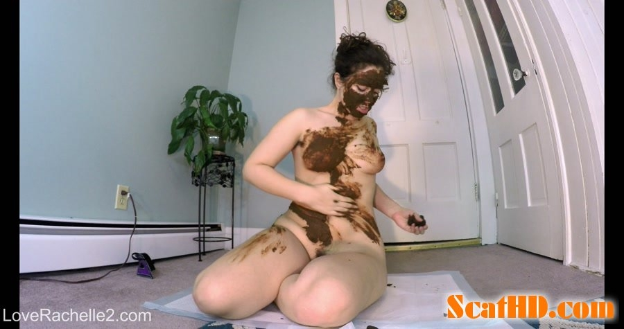Stinky SHIT Mask! Eating, Smearing and Cumming - 4K UltraHD MPEG-4 Video 4096x2160 29.970 FPS 19.8 Mb/s - With Actress: LoveRachelle2 [1.75 GB] (2018)