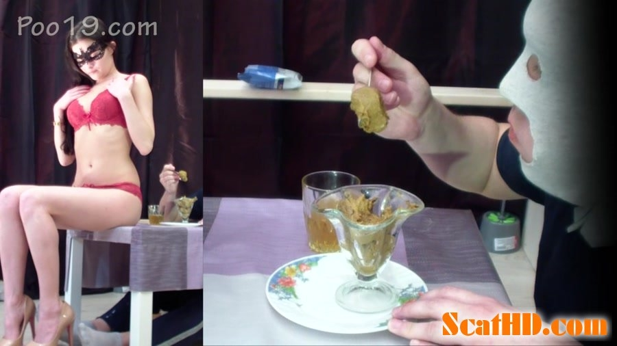 Very tasty dessert from Christina - FullHD Quality MPEG-4 Video 1920x1080 29.970 FPS 10.2 Mb/s - With Actress: Smelly Milana [801 MB] (2018)