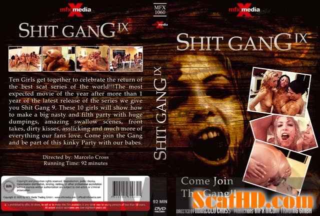 MFX-1060 Shit Gang 9 - DVDRip MPEG-PS Video 320x240 29.970 FPS 570 kb/s - With Actress: Diana, Bel, Perla, Cristina, Victoria, Raquel, Milly, Ravana, Iris, Darla [356 MB] (2018)