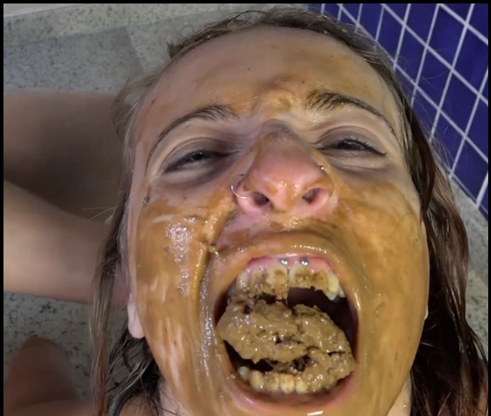 Take My Shit In Your Mouth Bitch !! - FullHD Quality MPEG-4 Video 1920x1080 59.940 FPS 7606 kb/s - With Actress: Kate Becker And Penelope [1.92 GB] (2018)