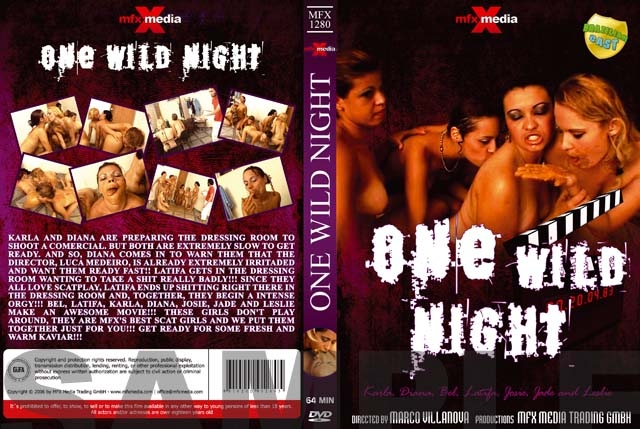 MFX-1280 One Wild Night - DVDRip AVI Video XviD 640x480 29.970 FPS 1559 kb/s - With Actress: Latifa, Karla, Bel, Diana, Leslie, Josie, Jade [700 MB] (2018)