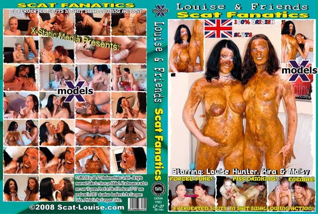 Louise & Friends 7 - Scat Fanatics - DVDRip MPEG-4 Video 512x384 25.000 FPS 1000 kb/s - With Actress: Louise Hunter, Kira, Maisy [606 MB] (2018)