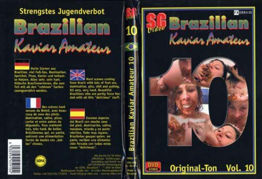 Brazilian Kaviar Amateur 10 - DVDRip AVI Video XviD 640x480 29.970 FPS 1610 kb/s - With Actress: Scat Girls [671 MB] (2018)