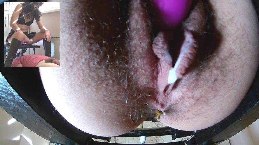 cum shit - Archive Porn Video - Big Shit and Cum in his mouth - FullHD ...