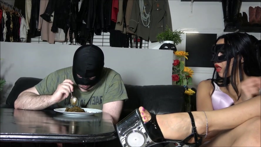 Eating a mountain of shit - FullHD 1920x1080 - With Actress: Mistress Gaia [587 MB] (2019)