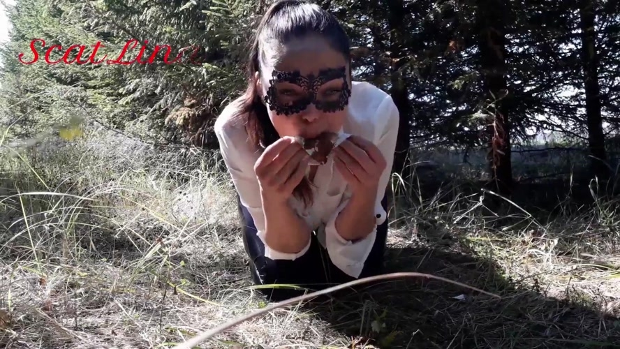 In the woods fetish  - FullHD 1920x1080 - With Actress: ScatLina [678 MB] (2020)