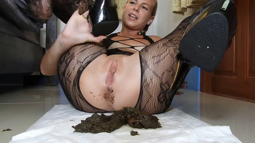 Poopy Platform Heels Anal Fuck In Fishnets/JOI - FullHD 1920x1080 - With Actress: MissAnja  [1.38 GB] (2020)