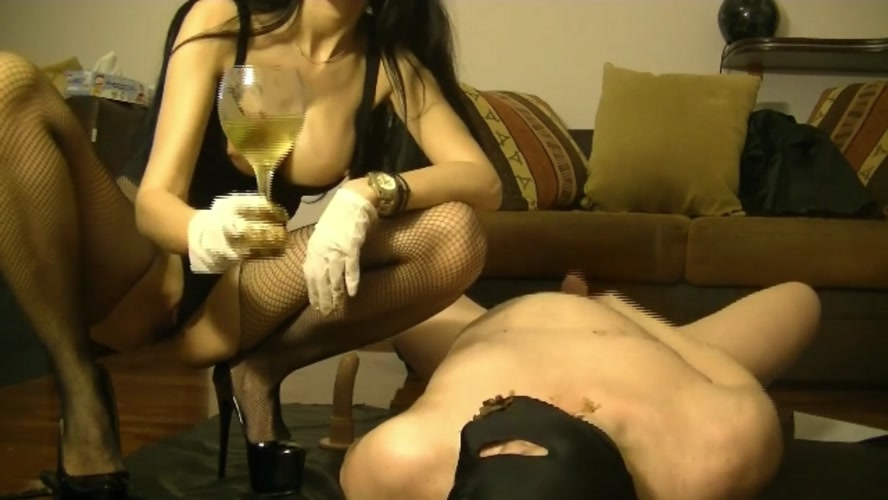 Scat dommes and cock sucking whore girl - FullHD 1920x1080 - With Actress: GoddessAndreea  [987 MB] (2020)